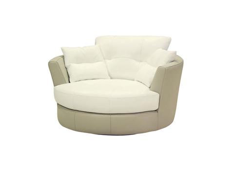 Muse - Oversized Swivel Chair - MU-3177-1.5SCH+2PW