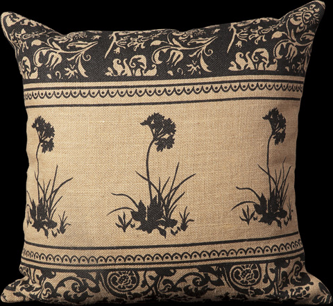 Nourison Industries, Inc. - Natural Square Throw Pillow - 99446041029