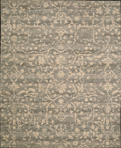 Nourison Industries, Inc. - Silk Elements Taupe Rectangular Rug - 99446164872