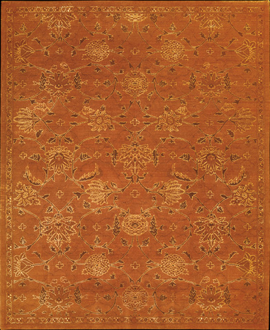 Nourison Industries, Inc. - Silk Infusion Copper Rectangular Rug - 99446179661