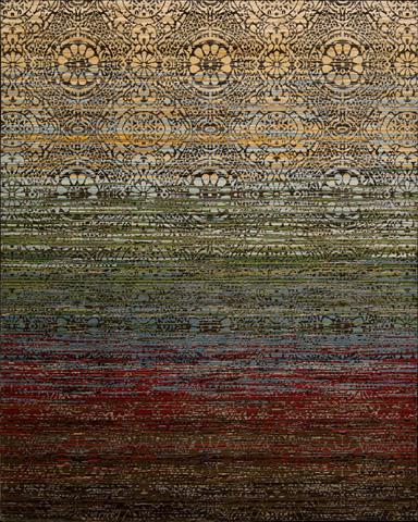 Nourison Industries, Inc. - Rhapsody Multicolor Rectangular Rug - 99446250216