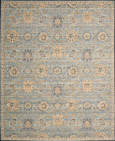 Nourison Industries, Inc. - Timeless Light Blue Rectangular Rug - 99446274328