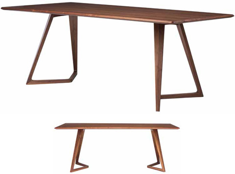 Nuevo - Karel Dining Table - HGGO106