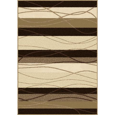 Orian Rugs - Tonal Stripe Mink 5'2