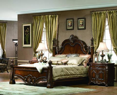 Orleans International - Lladro Queen Bed - 1049-001Q