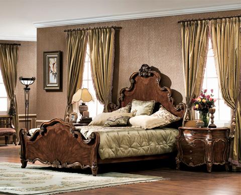 Orleans International - Escala Eastern King Bed - 1059-001E