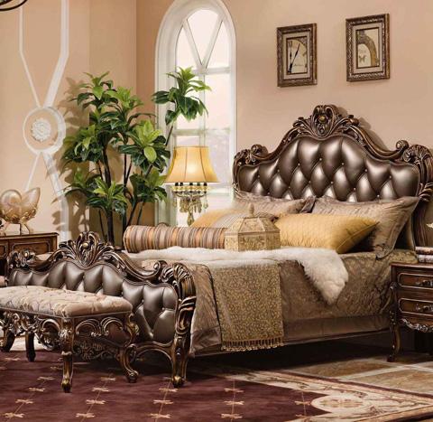 Orleans International - Basillica Queen Bed - 1159-001NQ