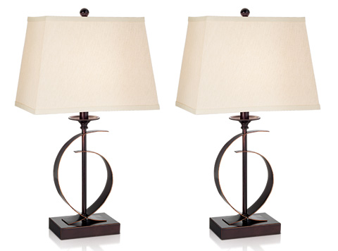 Pacific Coast Lighting - Novo Table Lamp, Two Pack - 87-6180-22