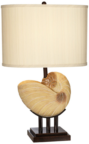 Pacific Coast Lighting - Kaanapali Seashell Table Lamp - 87-1241-62