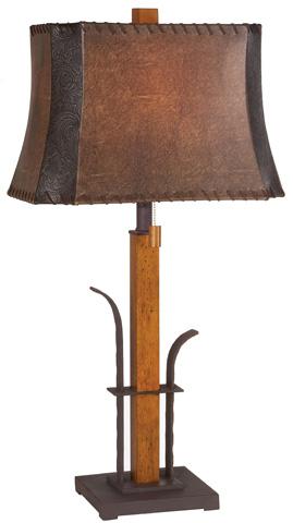 Pacific Coast Lighting - Aspen Grove Table Lamp - 87-1474-9F