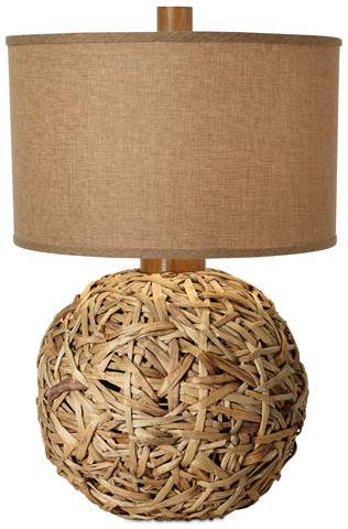 Pacific Coast Lighting - Seagrass Meadow Table Lamp - 87-6764-48