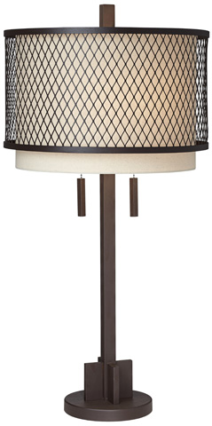 Pacific Coast Lighting - Mesh Table Lamp - 87-7029-68
