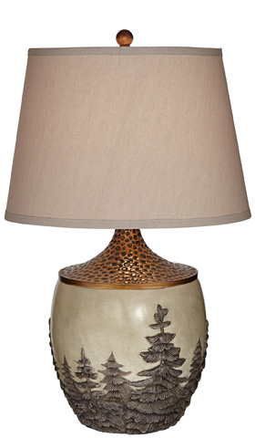 Pacific Coast Lighting - Great Forest Table Lamp - 87-7163-03