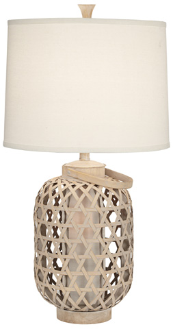 Pacific Coast Lighting - Bamboo Basket Table Lamp - 87-7231-48