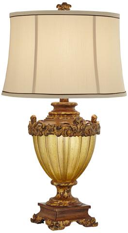 Pacific Coast Lighting - Queen Victoria Table Lamp - 87-7417-7L