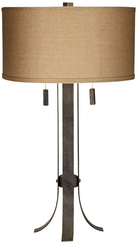 Pacific Coast Lighting - Pullman Table Lamp - 87-7426-C7