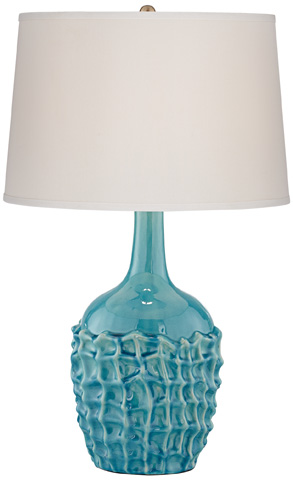 Pacific Coast Lighting - Basket Weave Table Lamp - 87-7997-45