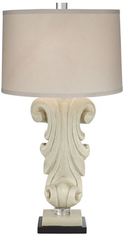 Pacific Coast Lighting - Carlyle Table Lamp - 87-8086-48