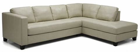 Palliser Furniture - Jura Leather Sectional with Chaise - 77201-12