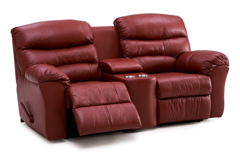 Palliser Furniture - Console Loveseat with Cup Holder - 41098-58