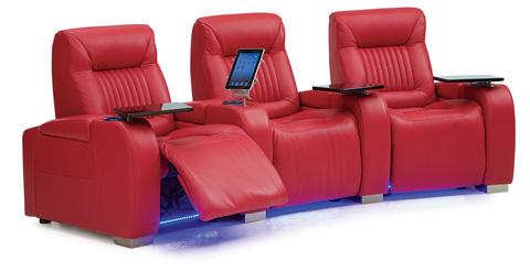 Palliser Furniture - Autobahn Theatre Seating - 41954-3E/41954-5E/41954-7E
