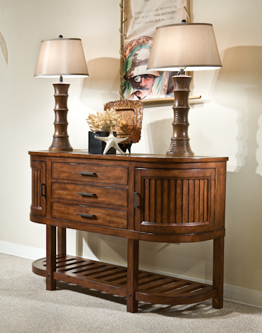 Palmetto Home - Eco Jack Sideboard with Wood Top - 101-679