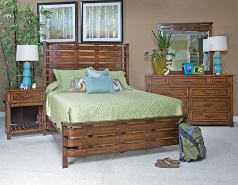 Palmetto Home - Eco Jack Slat Panel Bed - 101-115 GROUP