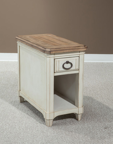 Palmetto Home - Chairside Table - 112-827