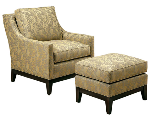 Pearson - Upholstered Slope Arm Chair - 204-00