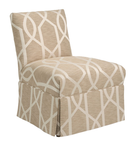Pearson - Skirted Armless Accent Chair - 233-00