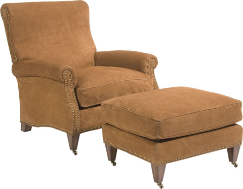 Pearson - Rolled Arm Lounge Chair - 411-00