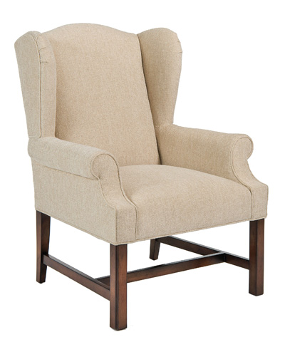 Pearson - Wing Chair with Exposed Leg - 428-00