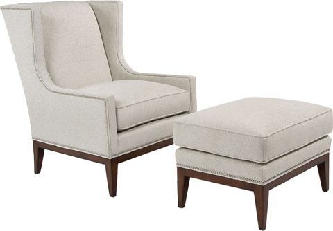 Pearson - Exposed Leg Wing Chair - 527-00