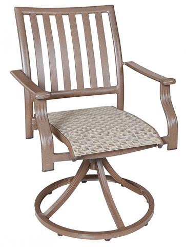 Pelican Reef - Swivel Rocking Dining Chair in Espresso Finish - PJO-1001-ESP-SD