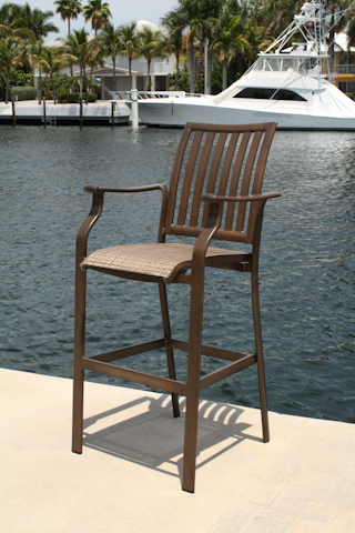 Pelican Reef - Island Breeze Set of 4 Stackable Barstools - PJO-1001-ESP-BS4