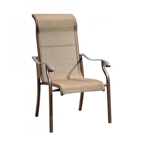 Pelican Reef - High Back Sling Arm Chair - PJO-1001-ESP-HB