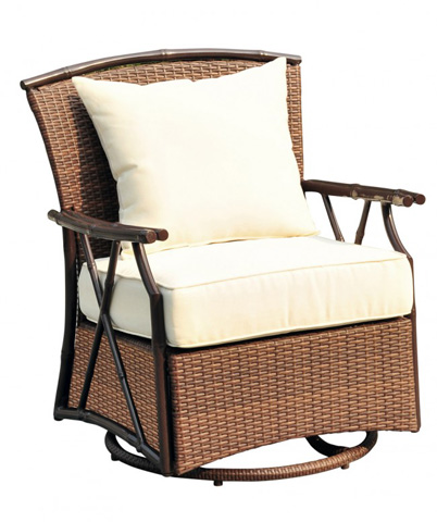 Pelican Reef - Panama Jack Rum Cay Swivel Lounge Chair - PJO-1201-ATQ-SW