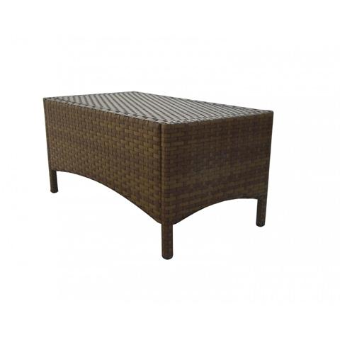 Pelican Reef - Panama Jack St Barths Rectangular Coffee Table - PJO-3001-BRN-RC