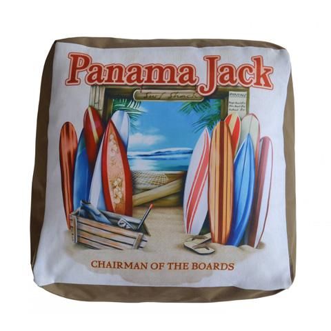 Pelican Reef - Panama Jack Chairman of The Boards Pouf Ottoman - PJO-9001-COB-OT