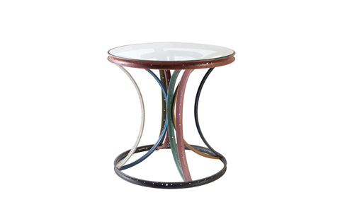 Phillips Collection - Bicycle Rim Side Table - ID66018