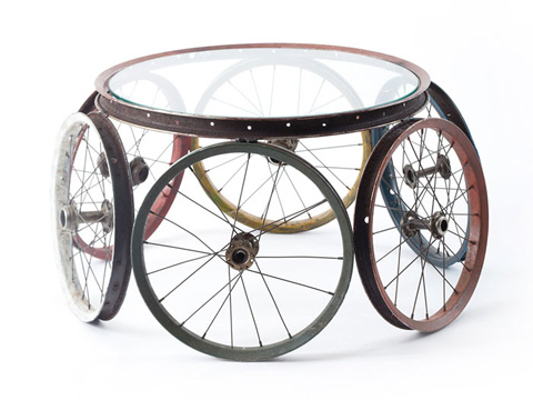 Phillips Collection - Bicycle Wheel Coffee Table - ID66438