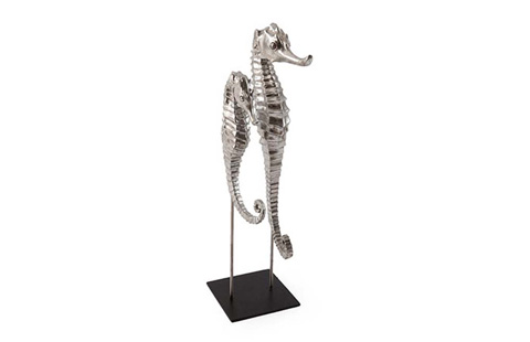Phillips Collection - Seahorse in Silver Leaf - PH66924