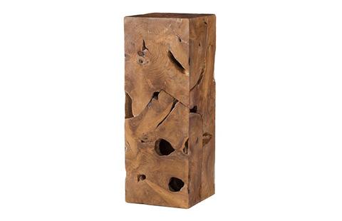 Phillips Collection - Teak Slice Pedestal - ID65139