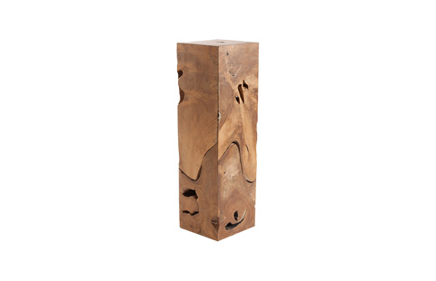 Phillips Collection - Teak Slice Pedestal - ID65140