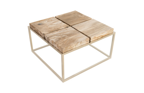 Phillips Collection - Petrified Wood Coffee Table - ID74240