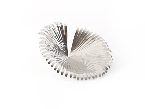 Phillips Collection - Stainless Steel Anahaw Leaf - PH64925
