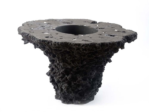 Phillips Collection - Lava Stone Planter Table - PH67162