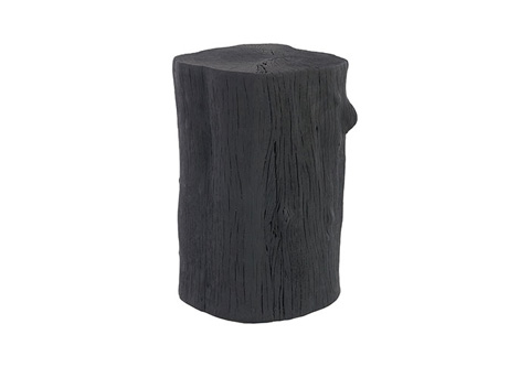 Phillips Collection - Charred Log Stool - PH67663