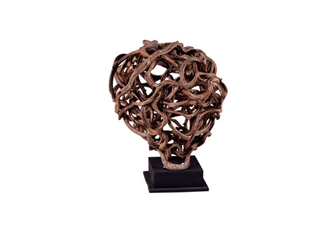 Phillips Collection - Round Vine on Stand - TH56428