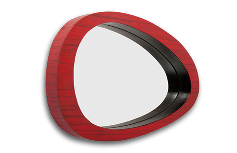 Phillips Collection - Bamboo Abstract Mirror - TH60130